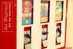 bubble gum spender