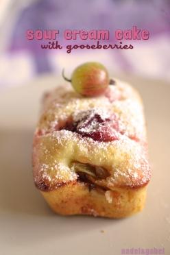 gooseberry cake