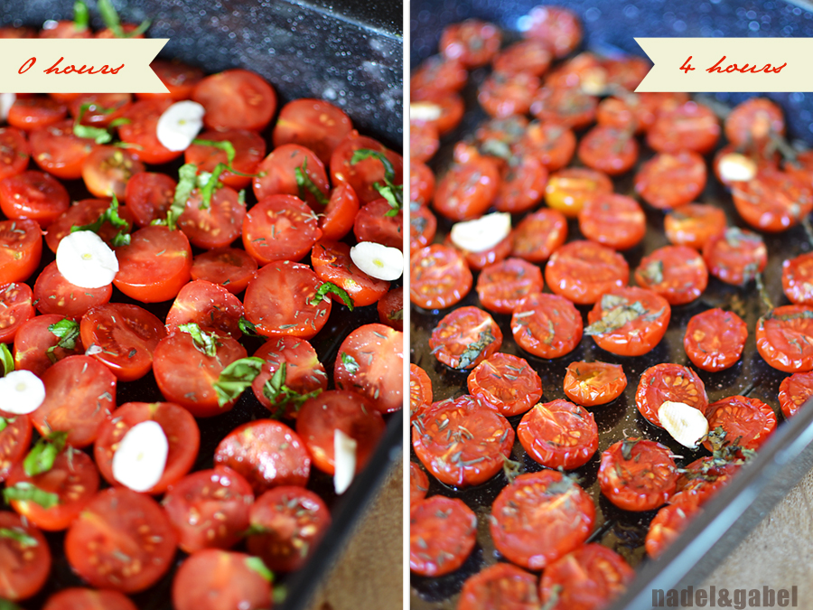 Flavour concentration – Oven dried cocktail tomatoes | nadel&gabel