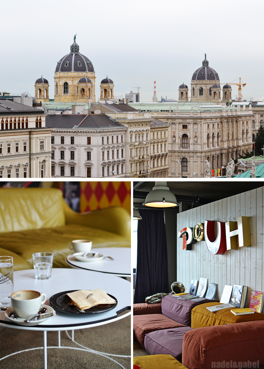 Vienna calling impressions and tips nadel gabel for Design hotel 25 hours vienna