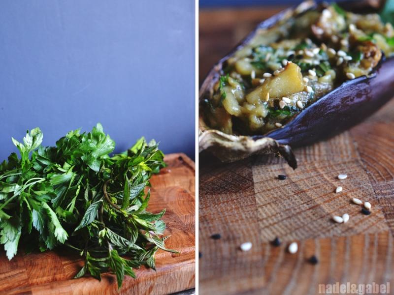 aubergine dip