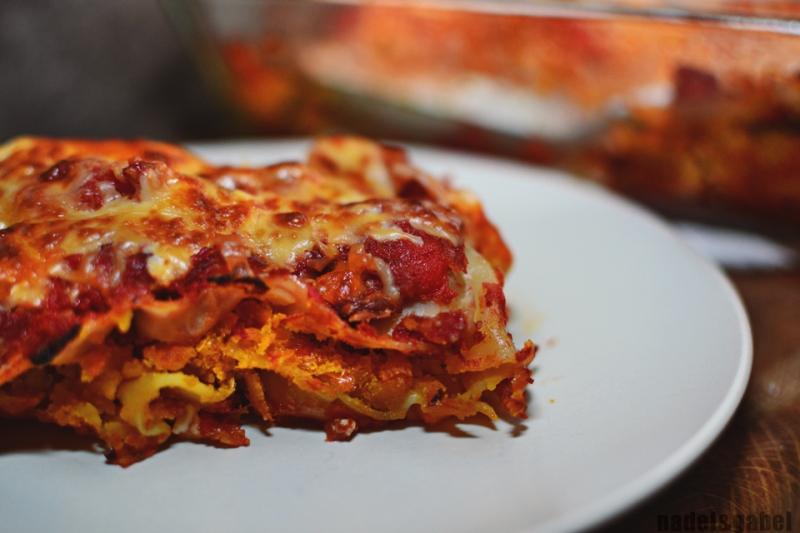 autumnal lasagna