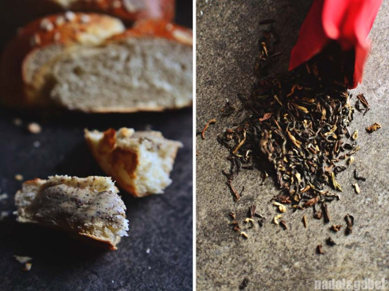 rose tea butter