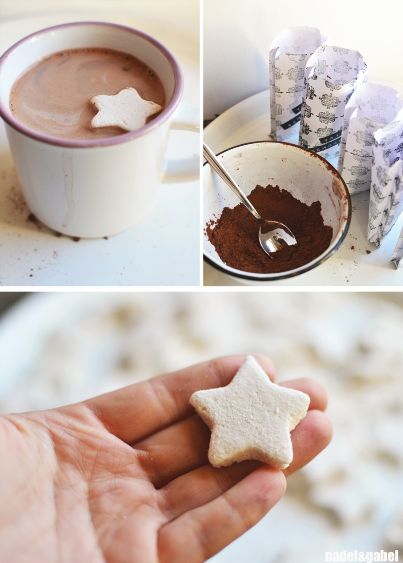 hot chocolate & marshmallow