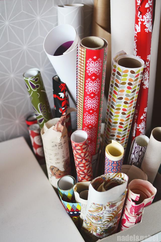 storage paper rolls