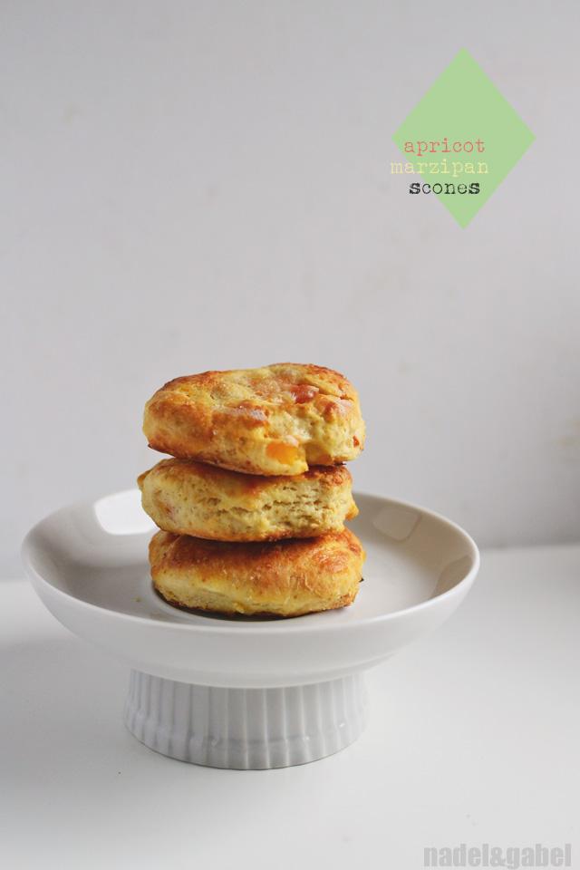 apricot marzipan scones