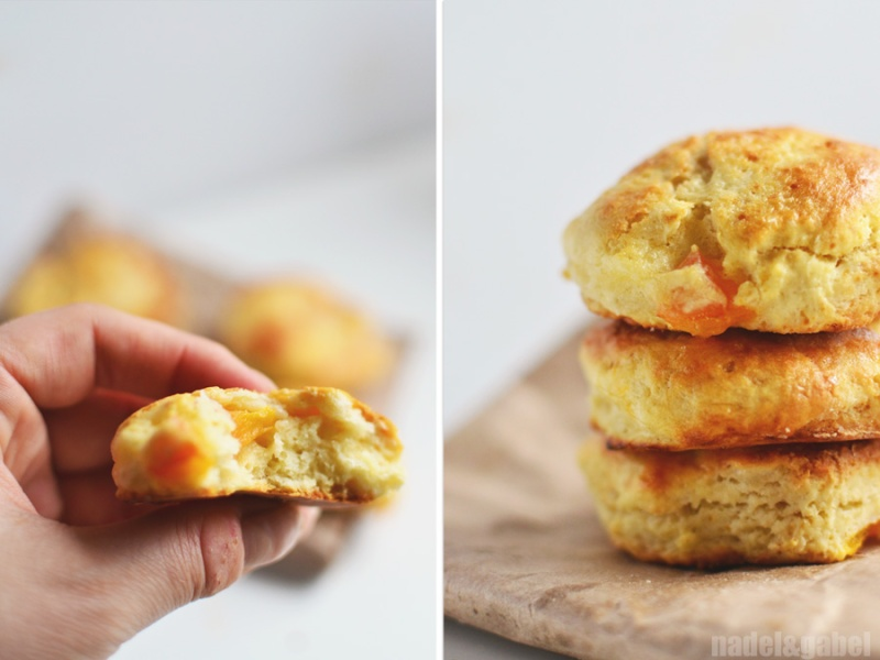 apricot marzipan scones
