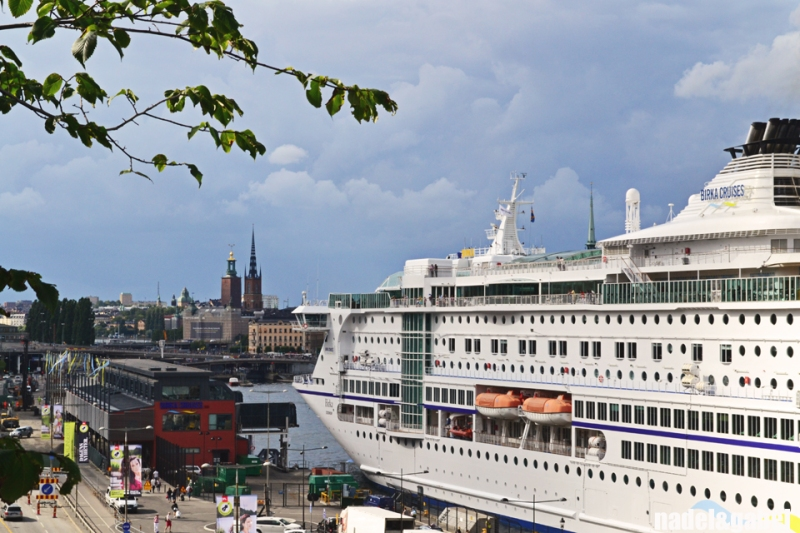 Stockholm cruise liner