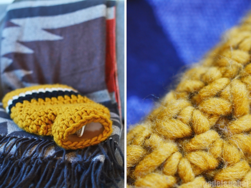 crocheted hot water bottle cover 4