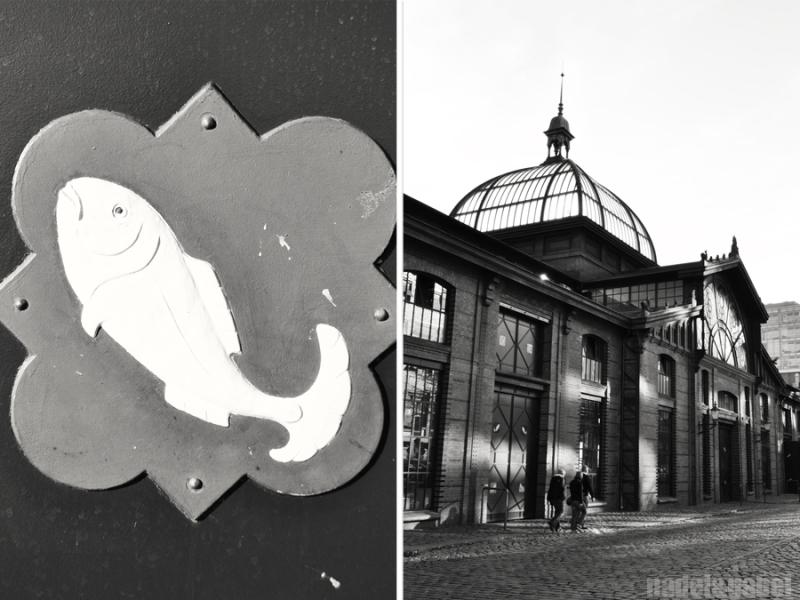 Hamburg-Altona fish market