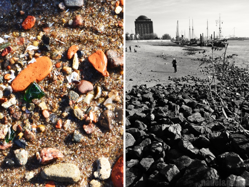 Hamburg Elbe strand 1