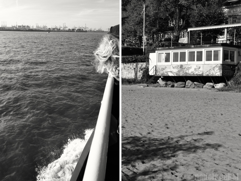 Hamburg Elbe strand 4
