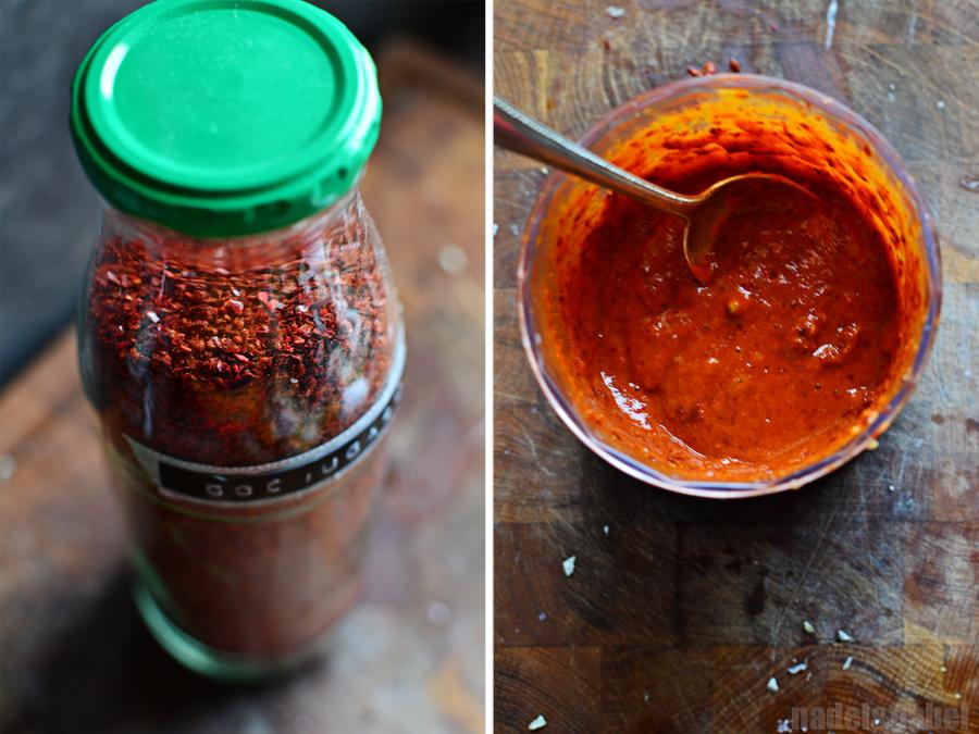 Mak kimchi - gochugaru