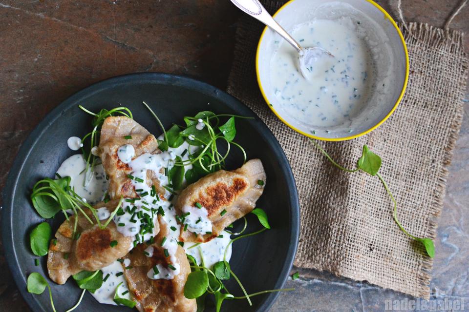Comfort food polish pierogi and jamie olivers new cookbook pierogi with cabbage and potato 5 forumfinder Choice Image
