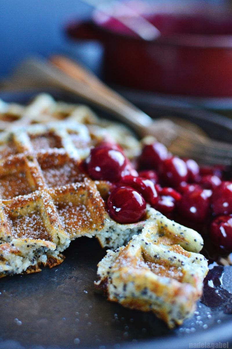 poppyseed marzipan waffles 1