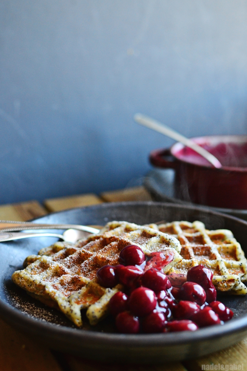 poppyseed marzipan waffles 5