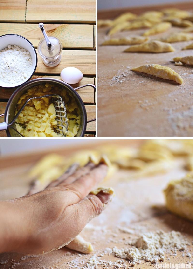 Schupfnudeln - potato finger noodles 3