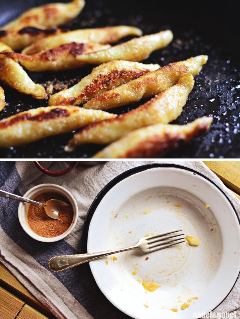 Schupfnudeln - potato finger noodles 5