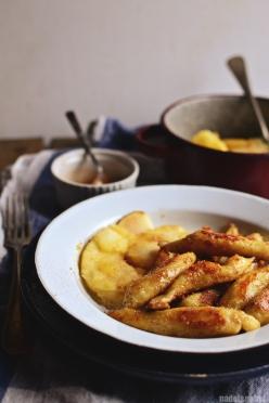 Schupfnudeln - potato finger noodles 8