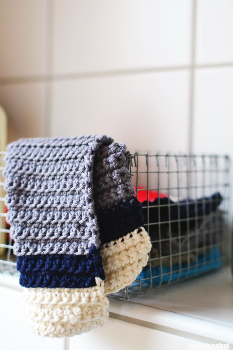 pimp your bathroom tawashi scrubbies and washcloths nadel gabel. Black Bedroom Furniture Sets. Home Design Ideas