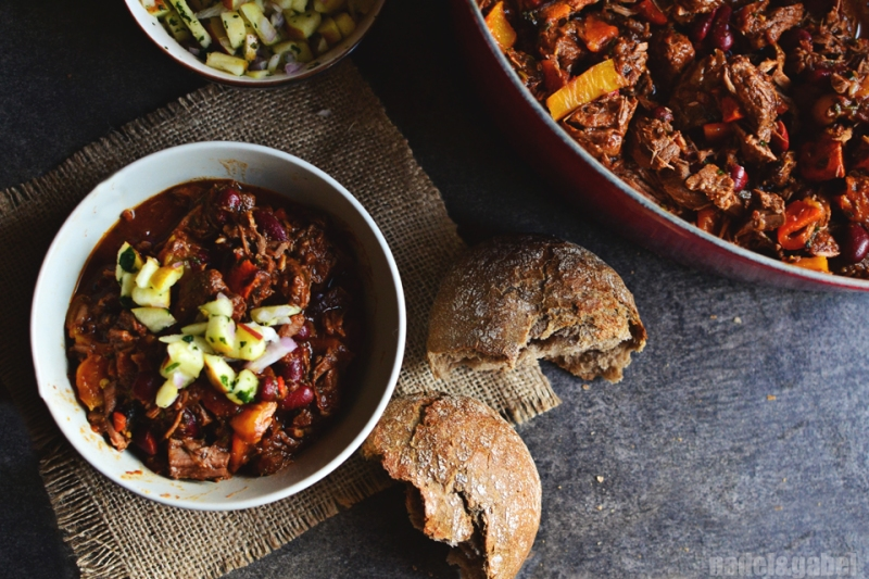 Winter chili con carne 8