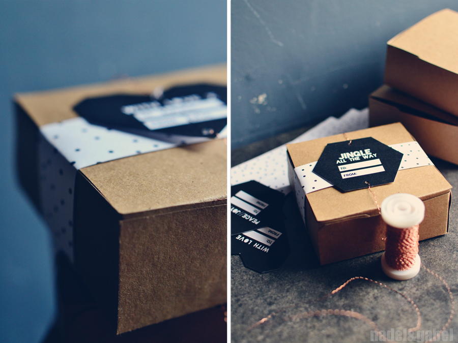 A little something – Homemade truffles and a DIY gift box ...