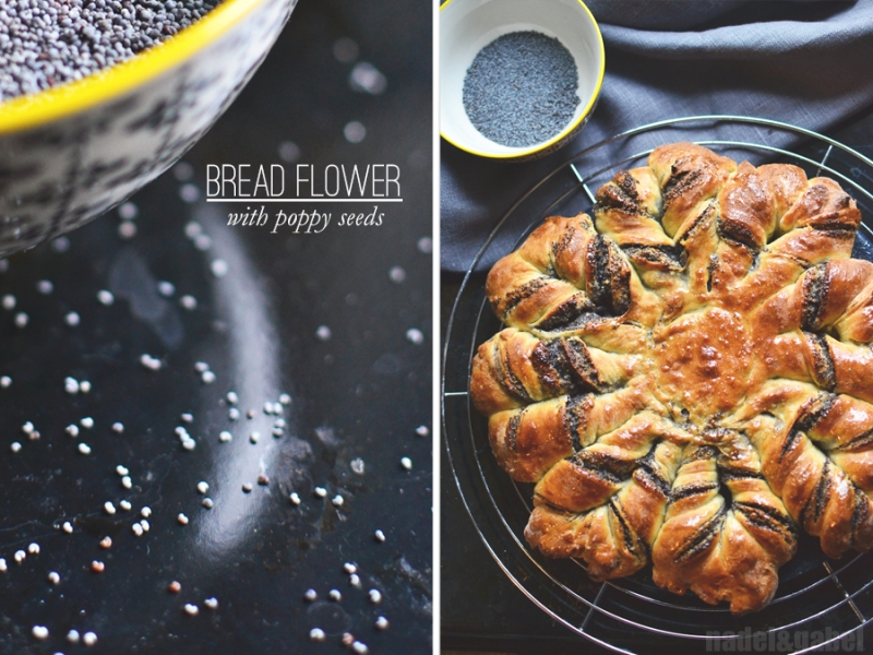 bread flower with poppy seeds 3