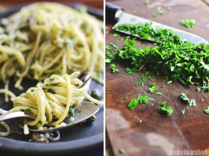 creamy herbed spaghetti 2