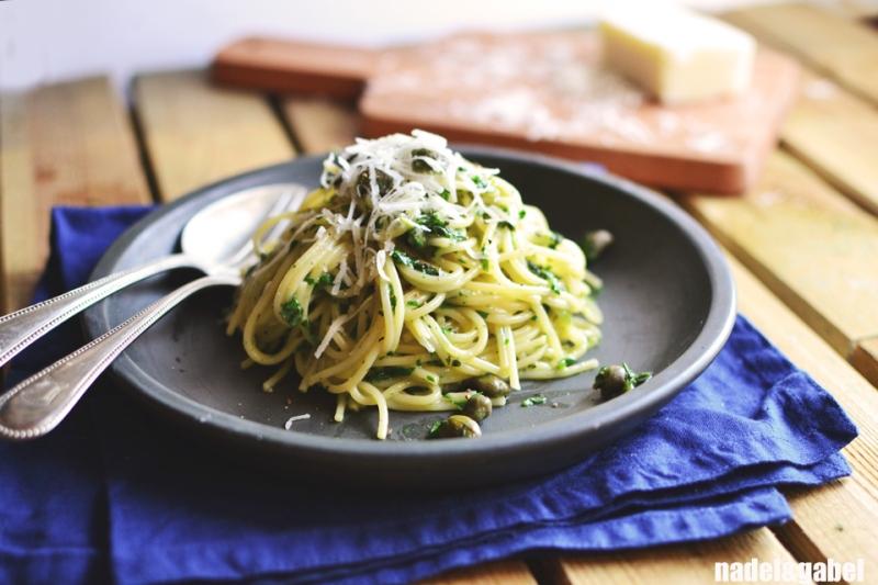 creamy herbed spaghetti 3