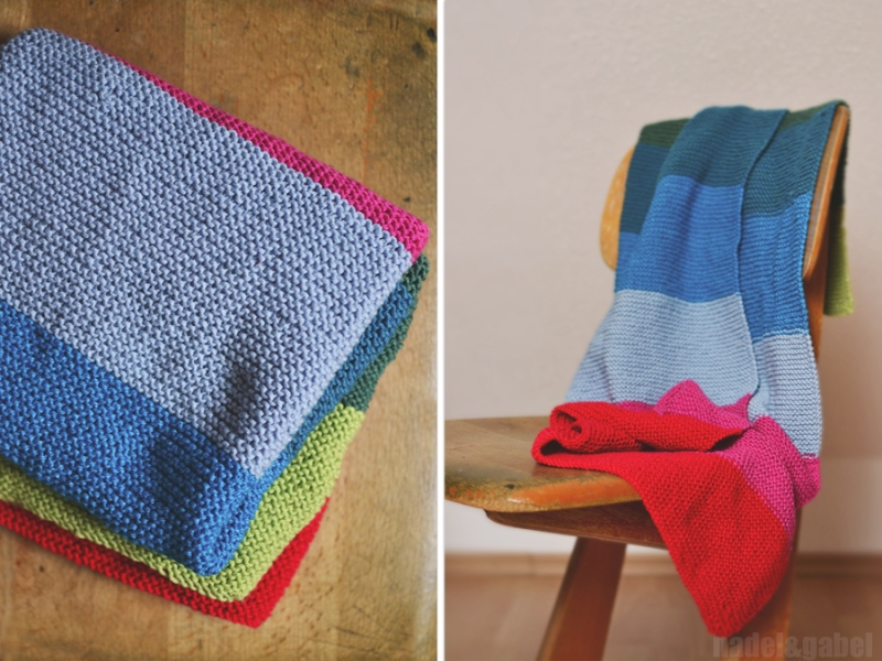 knitted baby blanket 7