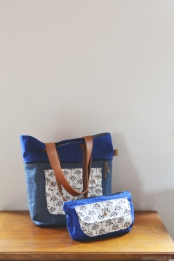 caravan tote and pouch 1