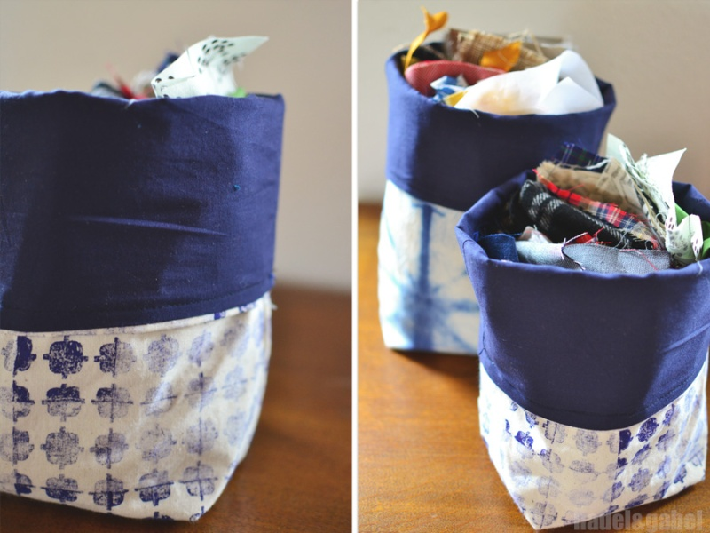 fabric storage basket 2
