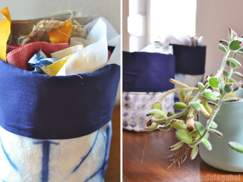 fabric storage basket 4