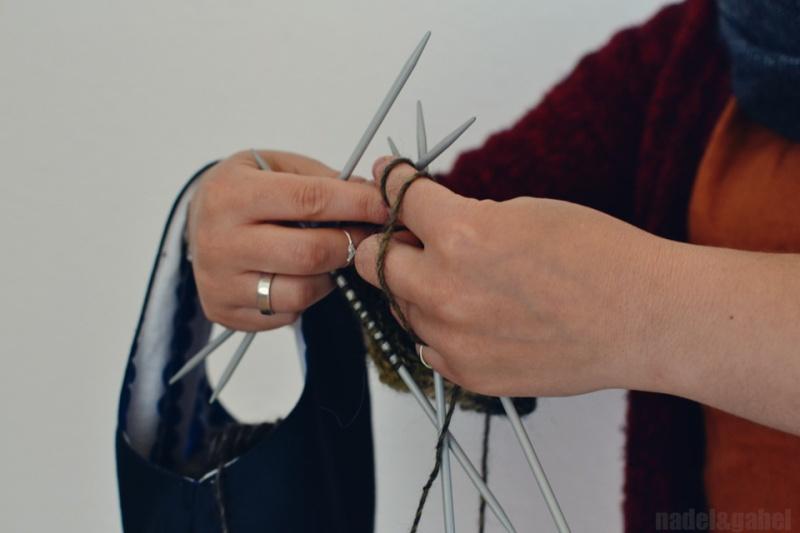 knitters project wristlet 6