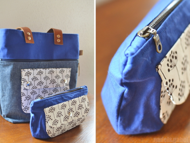 caravan tote and pouch 2