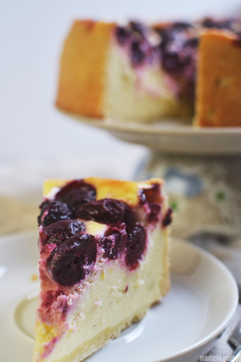 cherry cheese cake 1