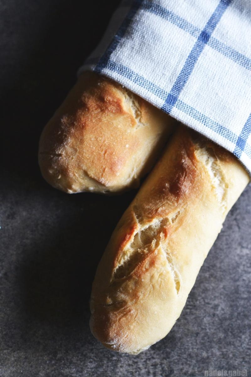homemade baguette 2
