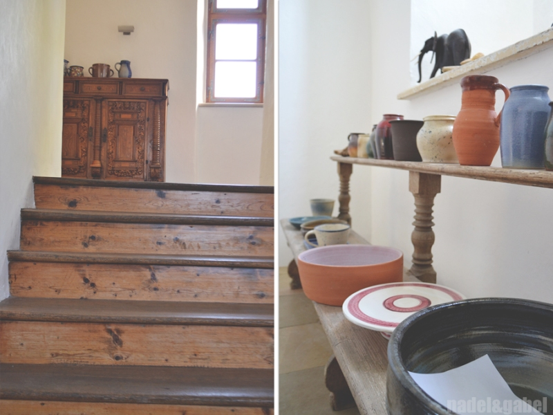 Schloss_castle Hofstetten stairway