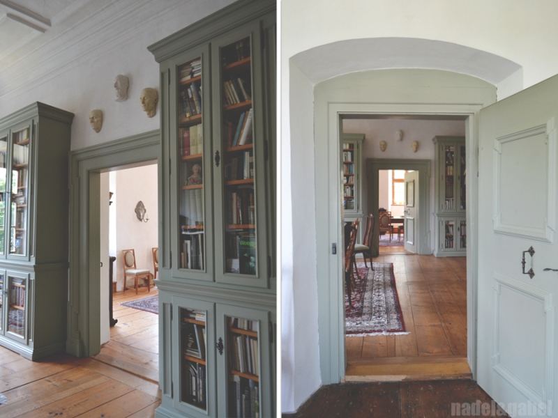 Schloss_castle Hofstetten wedding room_library