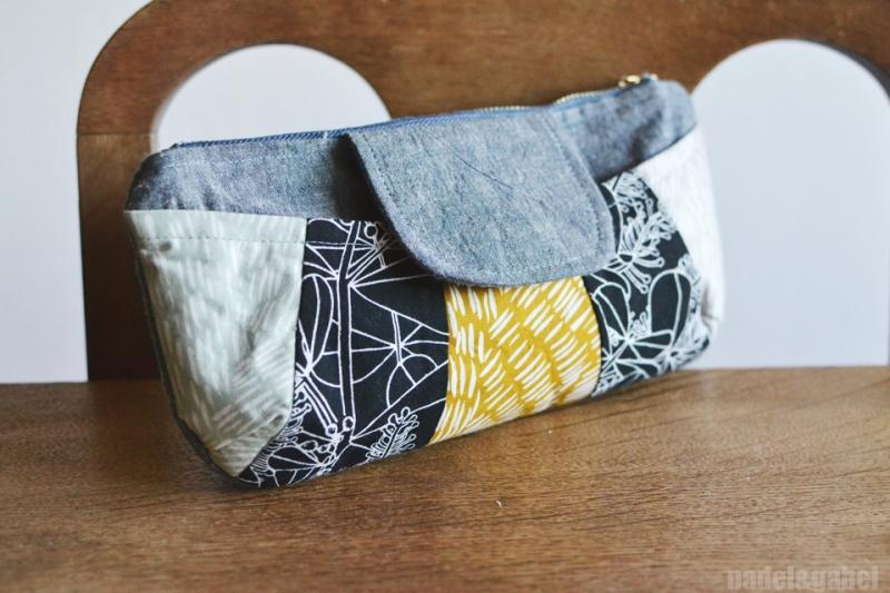rainbow clutch Anna Graham Handmade Style 1