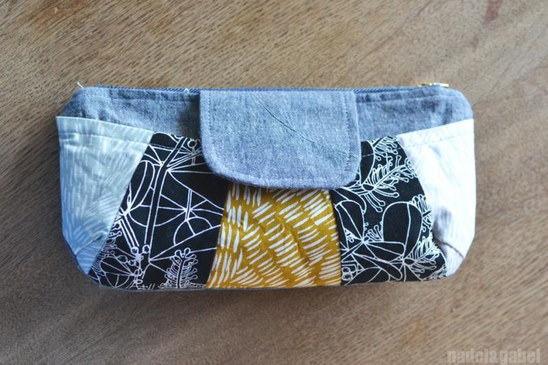 rainbow clutch Anna Graham Handmade Style 4