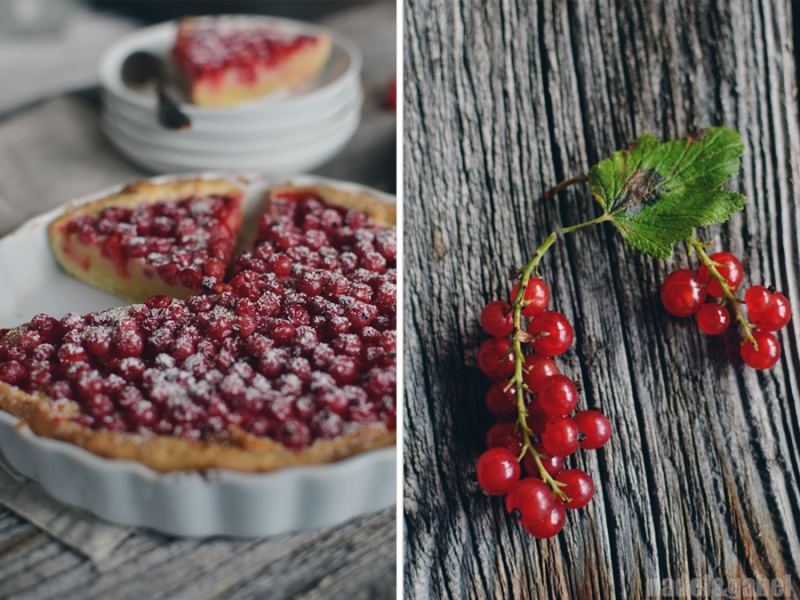 red currant mazarin tart 6