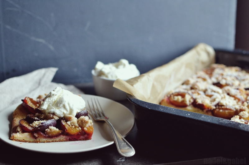 German plum cake 1