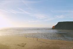 Odeceixe beach sunset