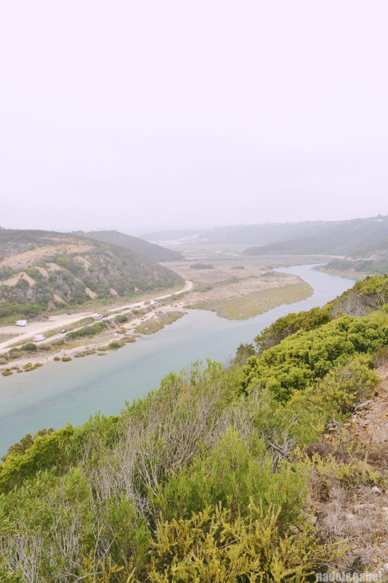 Odeceixe estuary