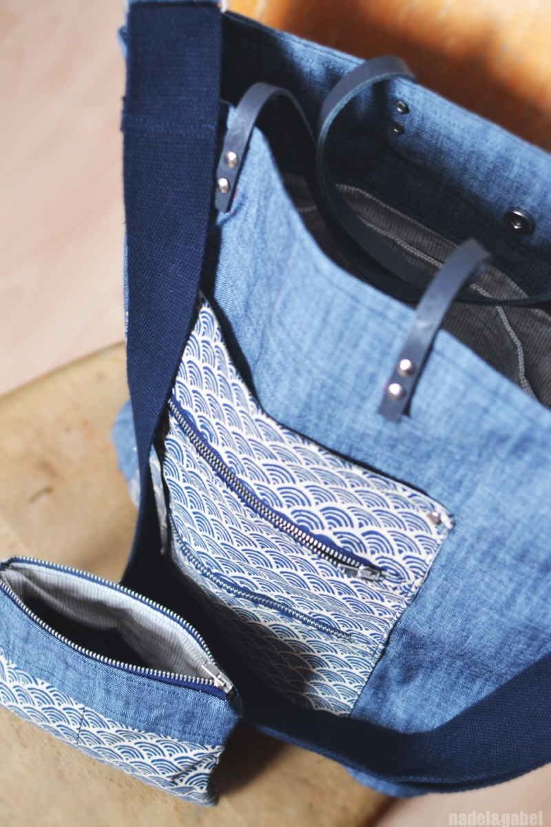 tote and pouch_ handmade style