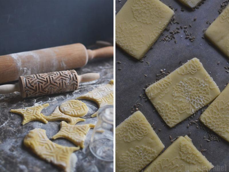 Springerle anis cookies