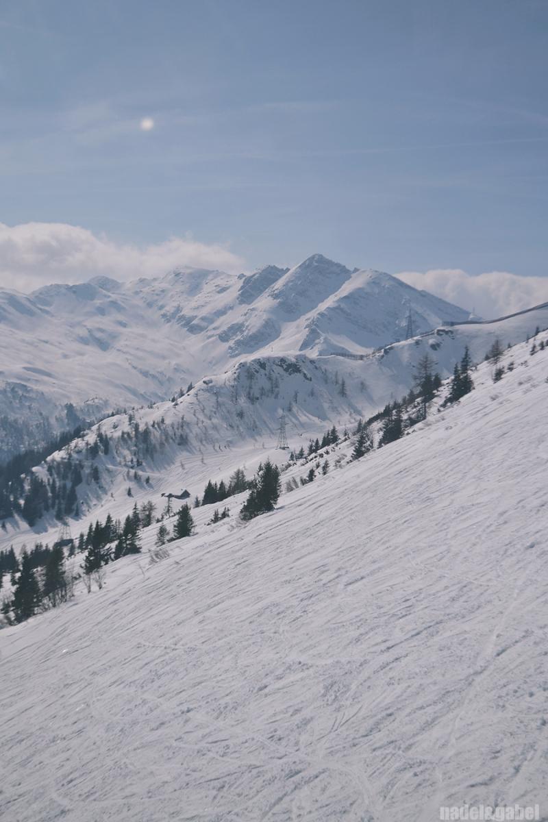 Alps in winter