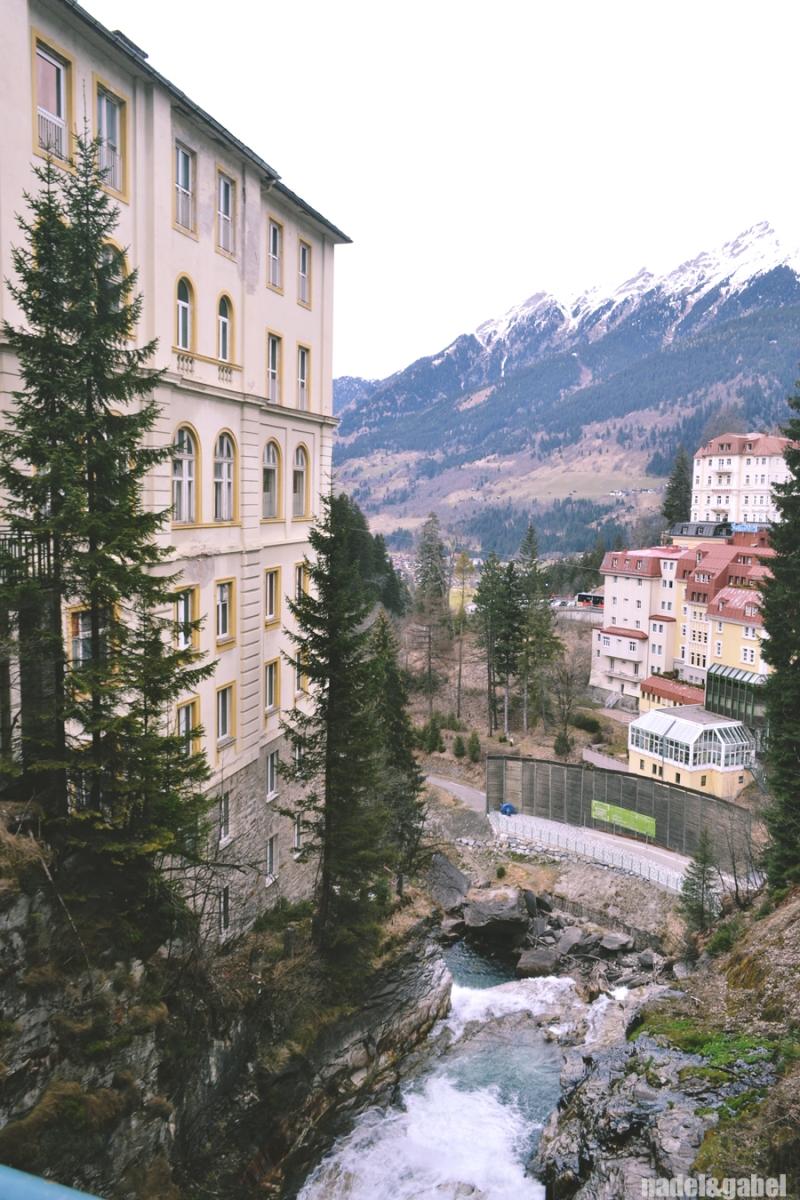Bad Gastein waterfall