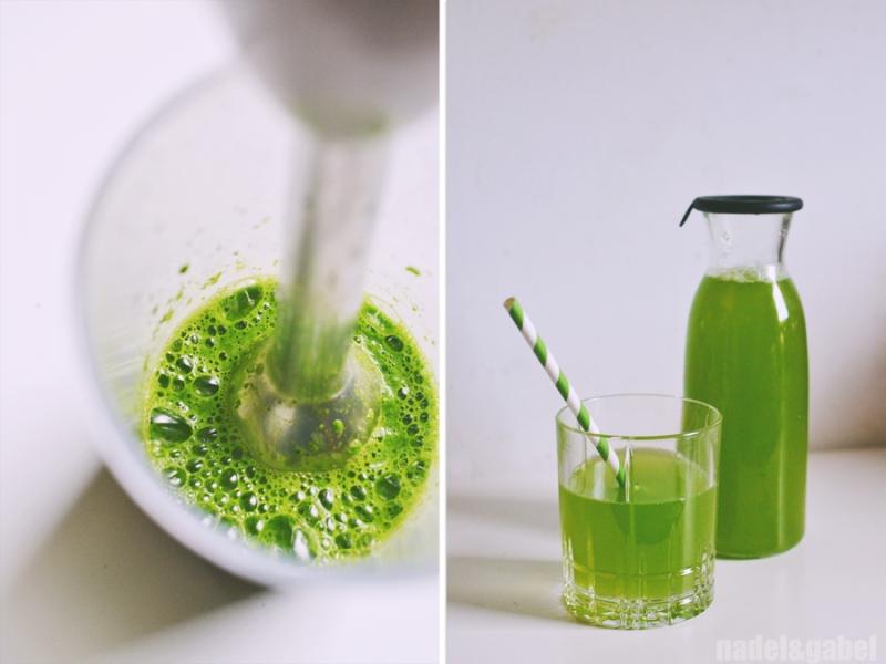 parsley elderflower juice